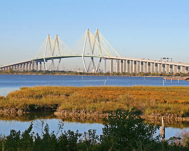 Fred Hartman Bridge - Baytown / LaPorte - From Bayland Marina
